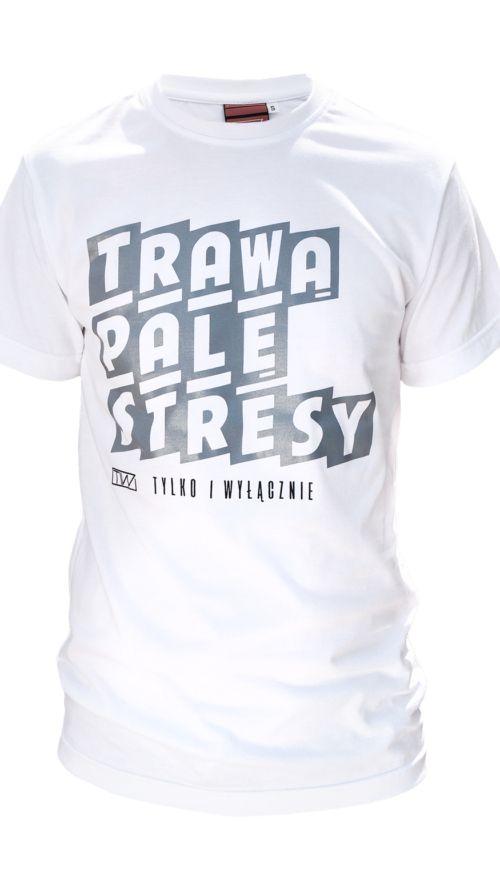 Koszulka_TRAWA_PALE_STRESY_White