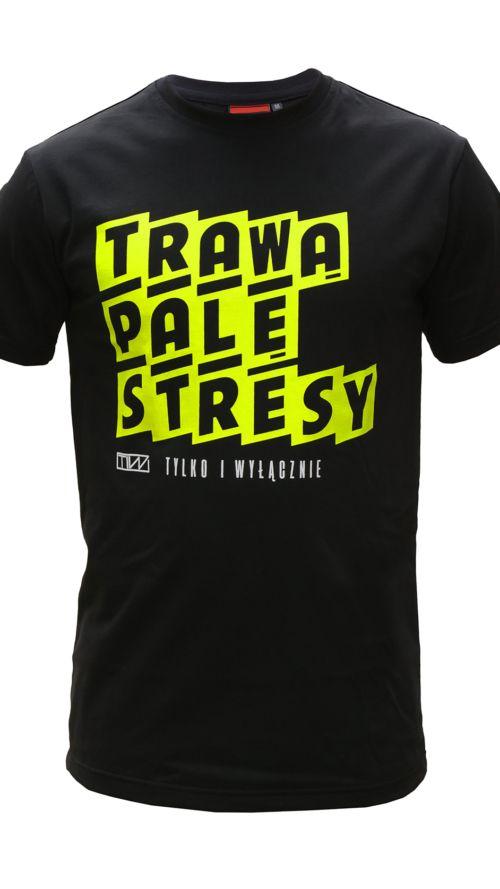 Koszulka_TRAWA_PALE_STRESY_BLACK_Front